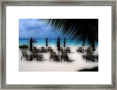 Framed Print featuring the photograph Grand Cayman Dreamscape by Caroline Stella