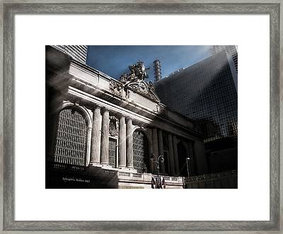 Grand Central #1 Framed Print by Aleksander Rotner
