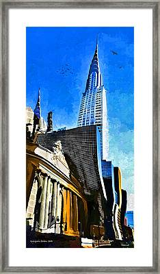 Grand Central #2 Framed Print by Aleksander Rotner