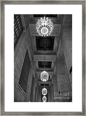 Grand Central Framed Print by Alison Tomich