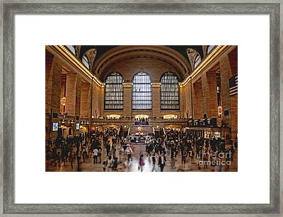 Grand Central Framed Print by Andrew Paranavitana