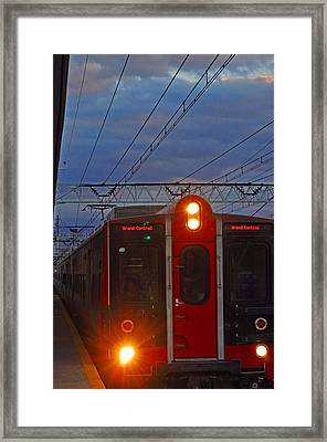 Grand Central Line Framed Print by Peter  McIntosh
