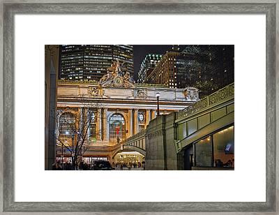 Grand Central Nocturnal Framed Print