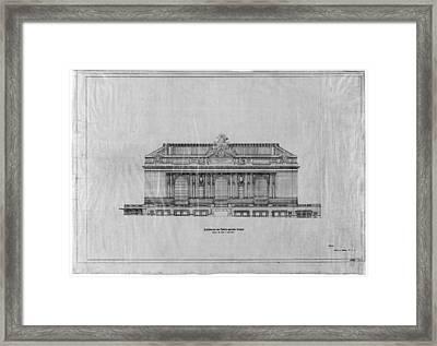 Grand Central Station, 1911 Framed Print