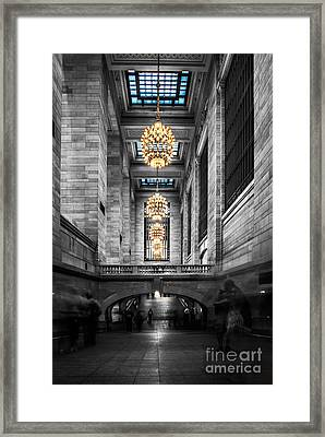Grand Central Station IIi Ck Framed Print by Hannes Cmarits