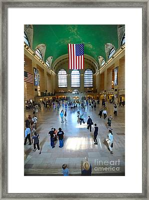 Grand Central Station New York City Framed Print by Amy Cicconi