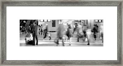 Grand Central Station, Nyc, New York Framed Print by Panoramic Images