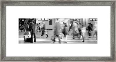 Grand Central Station, Nyc, New York Framed Print