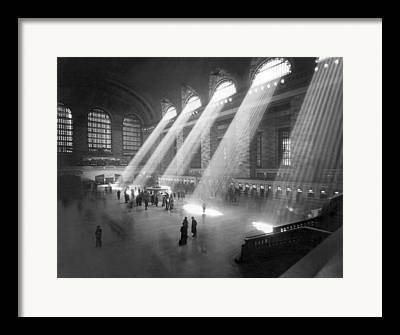 Railway Terminal Framed Prints