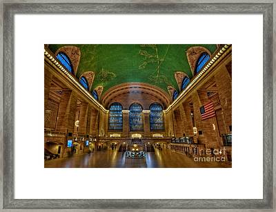 Grand Central Station Framed Print by Susan Candelario