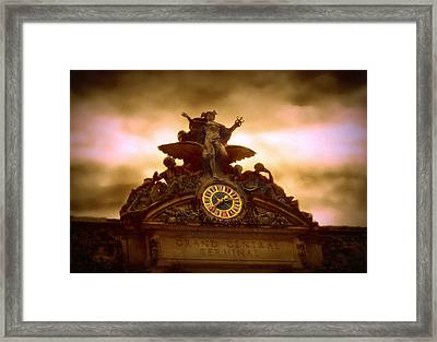 Grand Central Terminal Framed Print by Jessica Jenney