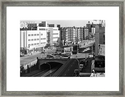 Grand Concourse Bronx Framed Print