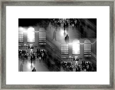 Grand Concourse Framed Print by Diana Angstadt