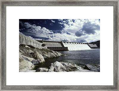 Grand Coulee Dam Framed Print by Earl Roberge