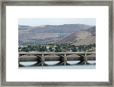 Framed Print featuring the photograph Grand Coulee Dam  by E Faithe Lester