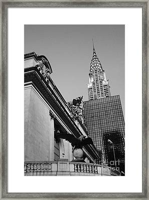 Grand Empire State Framed Print by Alison Tomich