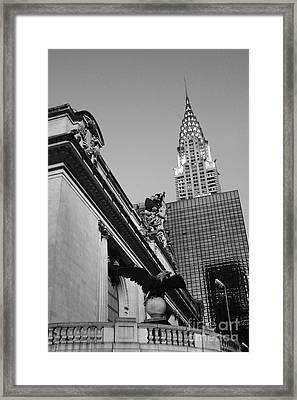 Grand Empire State Framed Print