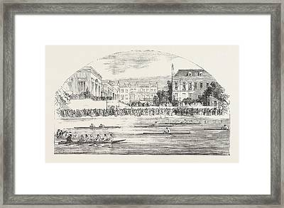 Grand Entertainment Given At The Castle Hotel, Richmond Framed Print