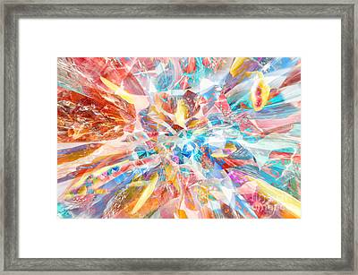 Framed Print featuring the digital art Grand Entrance by Margie Chapman