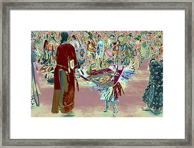Grand Entry 10 Framed Print
