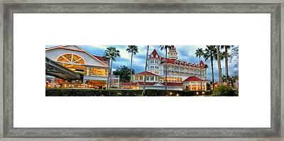 Grand Floridian Resort Walt Disney World Framed Print