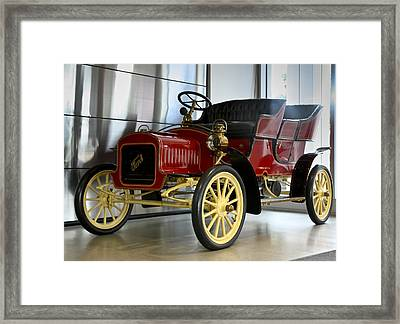 Framed Print featuring the photograph Grand Grand Father Of Ford by Nick Mares