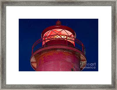 Grand Haven Lighthouse Framed Print by Twenty Two North Photography