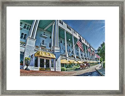 Grand Hotel - Image 001 Framed Print