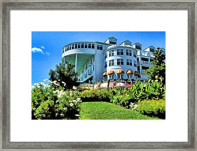Grand Hotel - Image 002 Framed Print