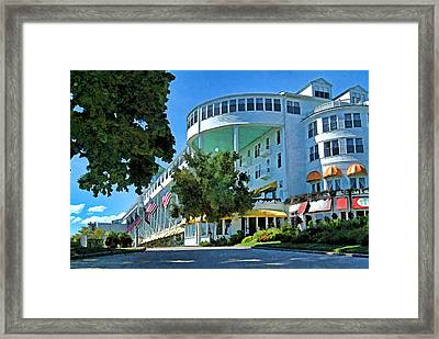 Grand Hotel - Image 003 Framed Print