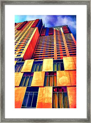 Grand Hyatt San Antonio Framed Print by Wendy J St Christopher