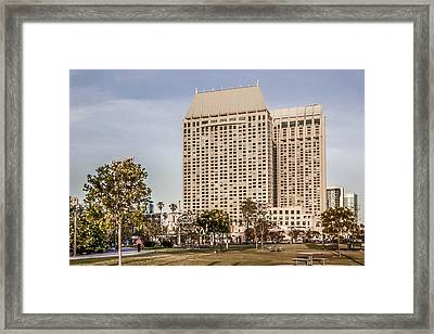 Grand Hyatt San Diego Framed Print by Photographic Art by Russel Ray Photos