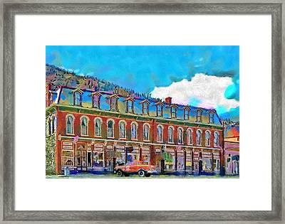 Grand Imperial Hotel Framed Print by Jeff Kolker