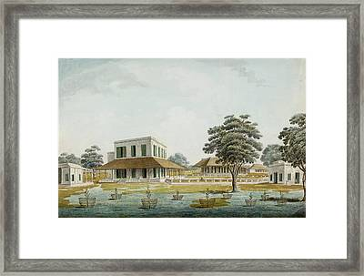 Grand Indian House Framed Print