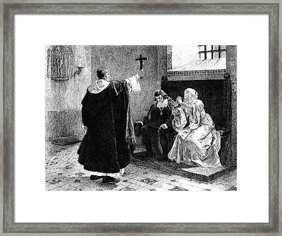 Grand Inquisitor Framed Print by Collection Abecasis