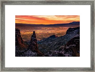 Grand Junction Framed Print by Taylor Franta