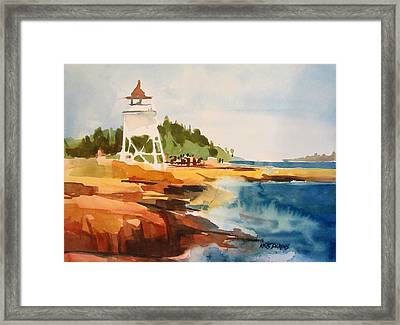 Grand Marais Framed Print by Kris Parins
