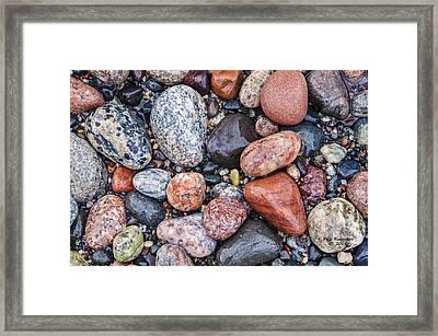 Grand Marais Beach Framed Print