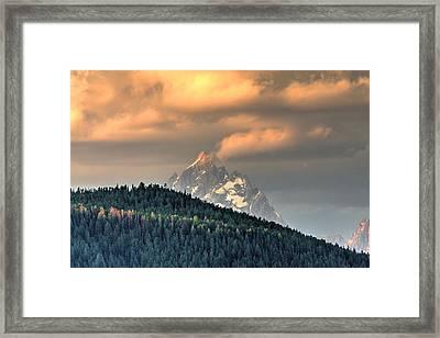 Grand Morning Framed Print by David Andersen