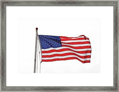 Grand Old Flag Framed Print
