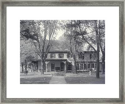 Grand Old House Framed Print