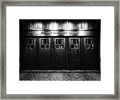 Grand Ole Opry House Framed Print