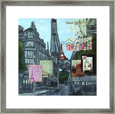 Grand Ole Paris-postcard From Paris Framed Print