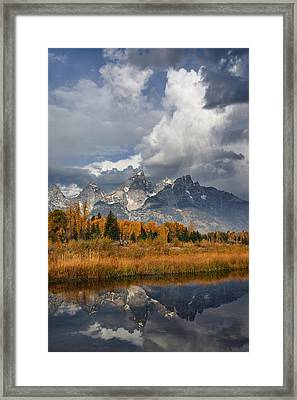 Grand Ole Tetons Framed Print
