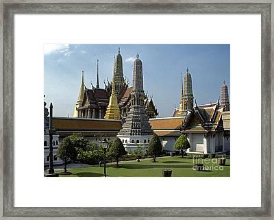 Grand Palace Bangkok Framed Print