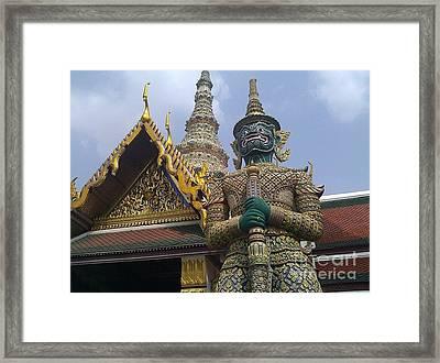 Grand Palace Thailand Framed Print