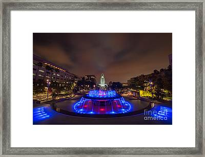 Grand Park Framed Print by Eddie Yerkish