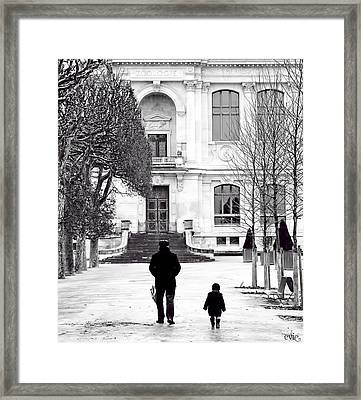 Grand Pere Framed Print by Evie Carrier