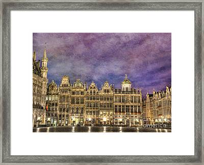 Grand Place Framed Print
