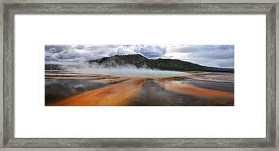 Grand Prismatic Spring Framed Print